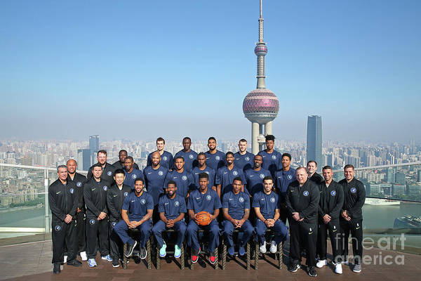 Event Art Print featuring the photograph 2017 Nba Global Games - China by David Sherman
