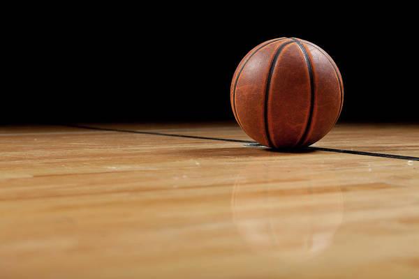 Ball Art Print featuring the photograph Basketball by Garymilner