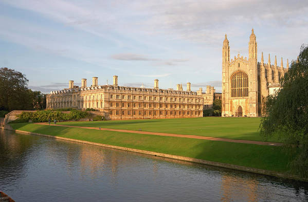 Shadow Art Print featuring the photograph England, Cambridge, Cambridge by Andrew Holt