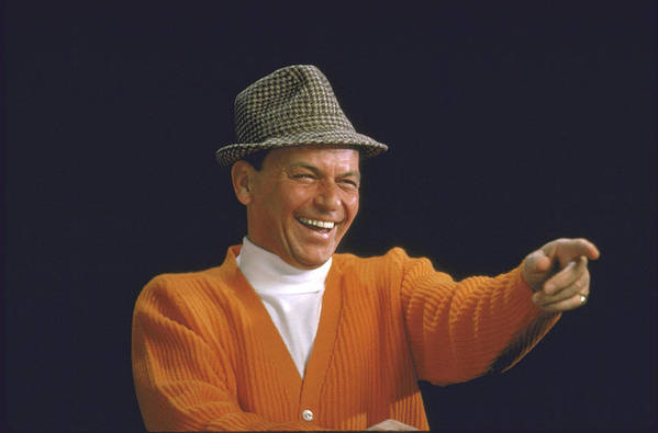 Timeincown Art Print featuring the photograph Frank Sinatra by John Dominis