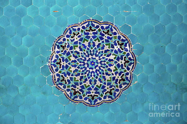 Yazd Art Print featuring the photograph Jameh Mosque, Yazd, Iran by Sergio Formoso