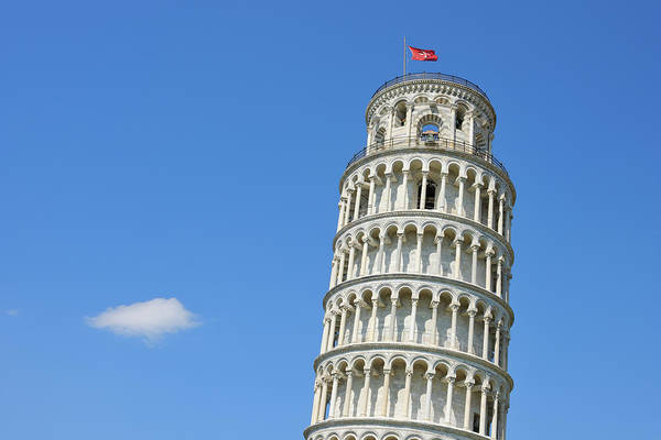 Arch Art Print featuring the photograph Leaning Tower Of Pisa by Martin Ruegner