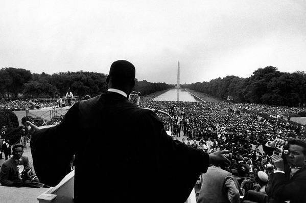 Martin Luther King Jr. Art Print featuring the photograph Martin Luther King Jr by Paul Schutzer