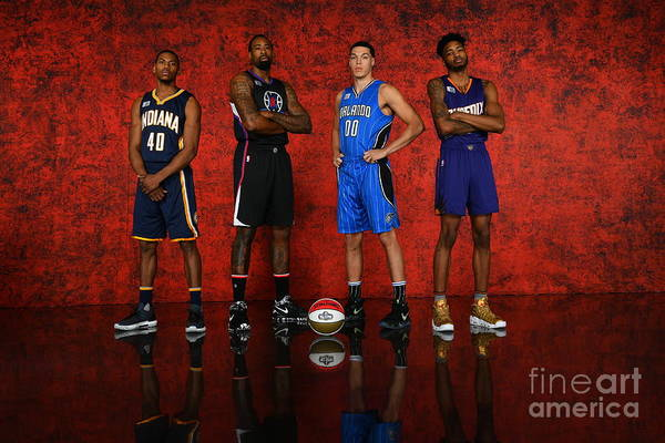 Smoothie King Center Art Print featuring the photograph Nba All-star Portraits 2017 by Jesse D. Garrabrant