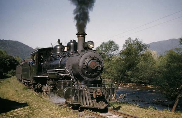 Rail Transportation Art Print featuring the photograph The Tweetsie by Michael Ochs Archives