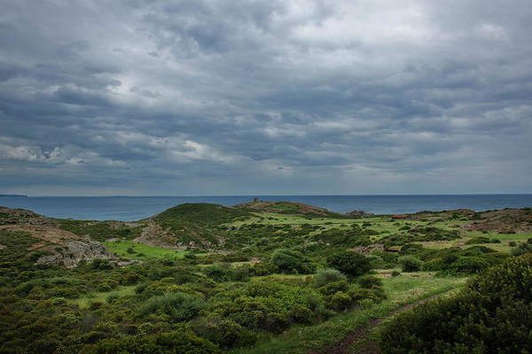 Scenics Art Print featuring the photograph Torre Argentina Promontory by Maremagnum