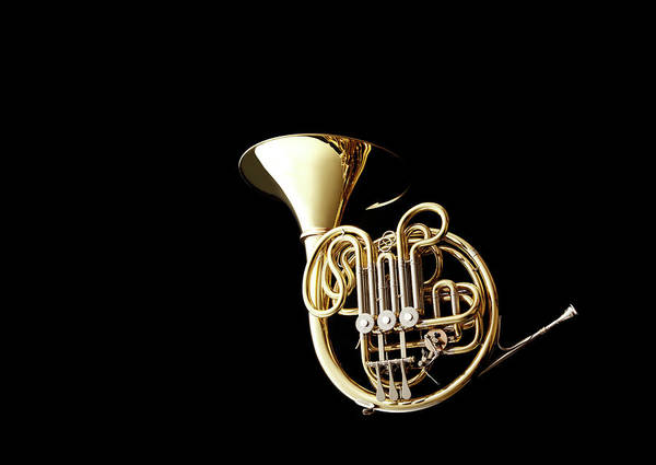 French Horn Art Print featuring the photograph Wind Instrument by Yuji Kotani