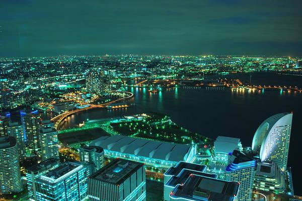 Yokohama Art Print featuring the photograph Yokohama by Copyright Artem Vorobiev