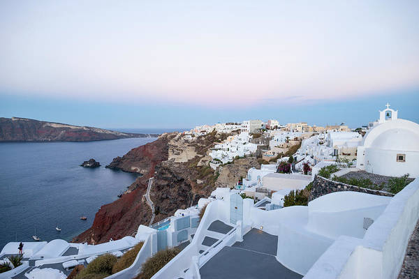 Tranquility Art Print featuring the photograph Santorini Greece by Neil Emmerson