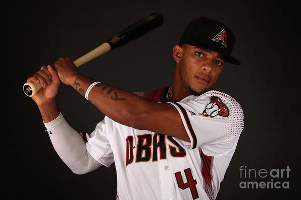 Media Day Art Print featuring the photograph Arizona Diamondbacks Photo Day by Christian Petersen