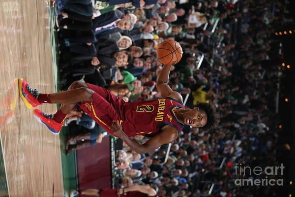Nba Pro Basketball Art Print featuring the photograph Cleveland Cavaliers V Milwaukee Bucks by Gary Dineen