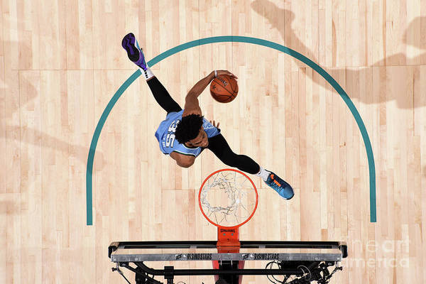 Nba Pro Basketball Art Print featuring the photograph 2019 Mtn Dew Ice Rising Stars by Andrew D. Bernstein