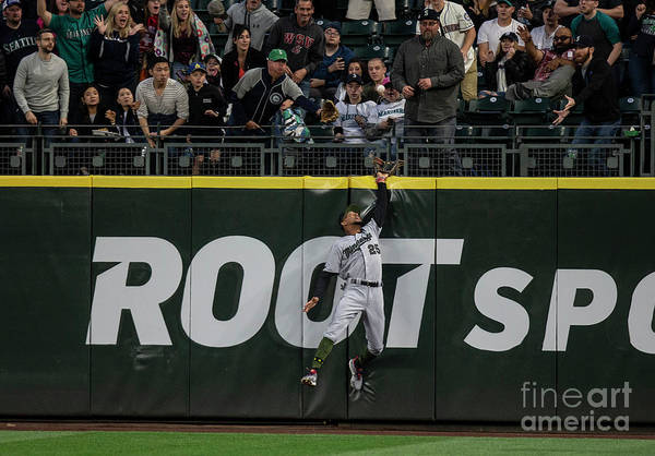 People Art Print featuring the photograph Minnesota Twins V Seattle Mariners by Stephen Brashear