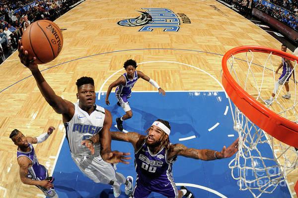 Nba Pro Basketball Art Print featuring the photograph Sacramento Kings V Orlando Magic by Fernando Medina