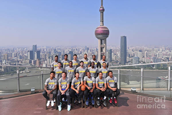 Event Art Print featuring the photograph 2017 Nba Global Games - China by Noah Graham