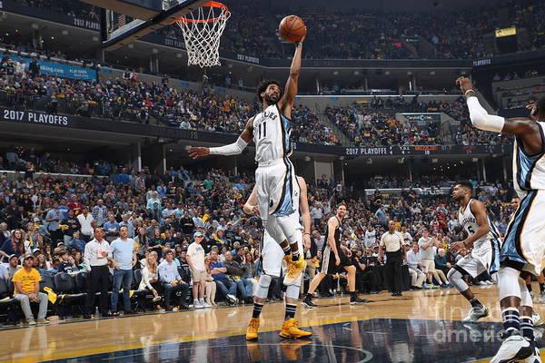 Playoffs Art Print featuring the photograph San Antonio Spurs V Memphis Grizzlies - by Joe Murphy