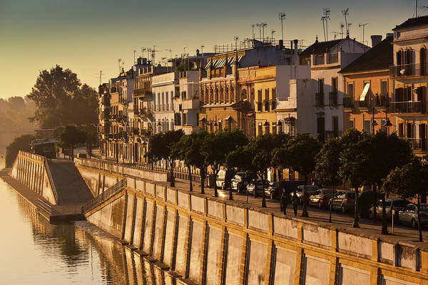 Tranquility Art Print featuring the photograph Spain, Andalucia Region, Seville by Walter Bibikow