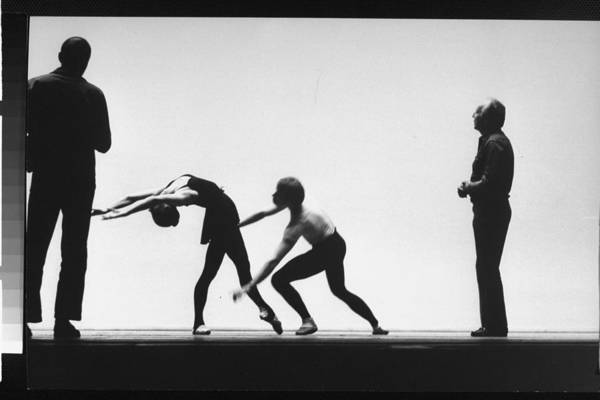 Timeincown Art Print featuring the photograph George Balanchine by Gjon Mili