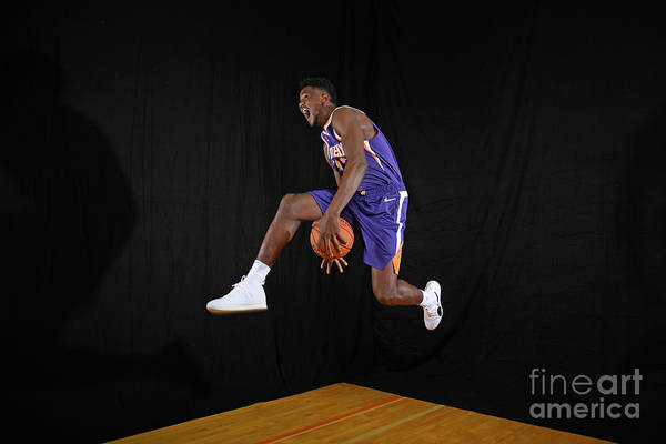 Nba Pro Basketball Art Print featuring the photograph 2018 Nba Rookie Photo Shoot by Brian Babineau