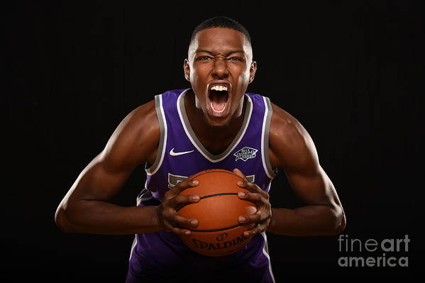Nba Pro Basketball Art Print featuring the photograph 2017 Nba Rookie Photo Shoot by Brian Babineau