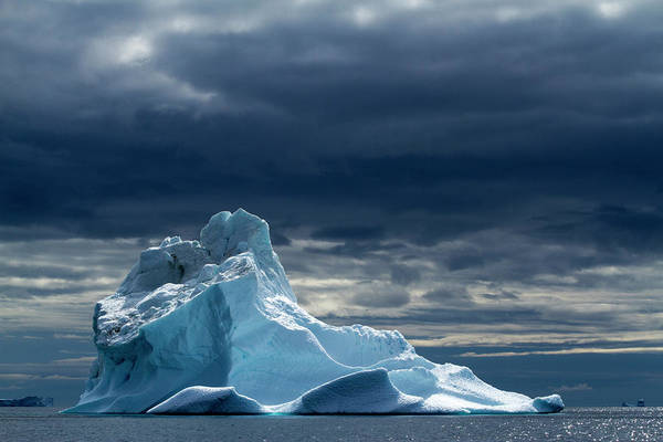 Tranquility Art Print featuring the photograph Icebergs, Disko Bay, Greenland by Paul Souders
