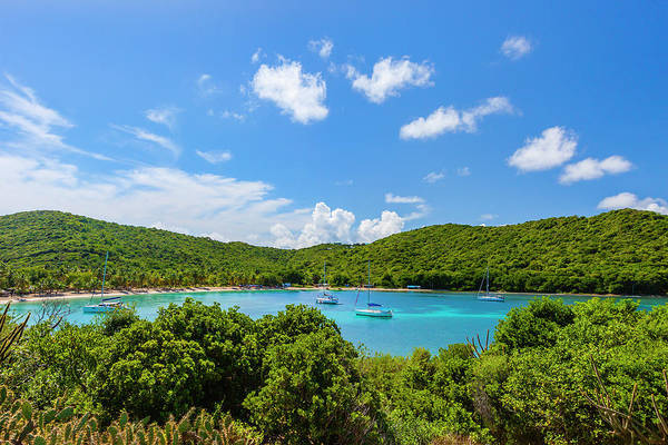 Sailboat Art Print featuring the photograph Salt Whistle Bay, Mayreau by Argalis