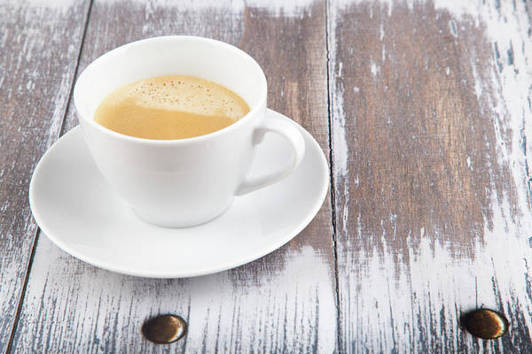 Cappuccino Art Print featuring the photograph Coffee by Focusstock