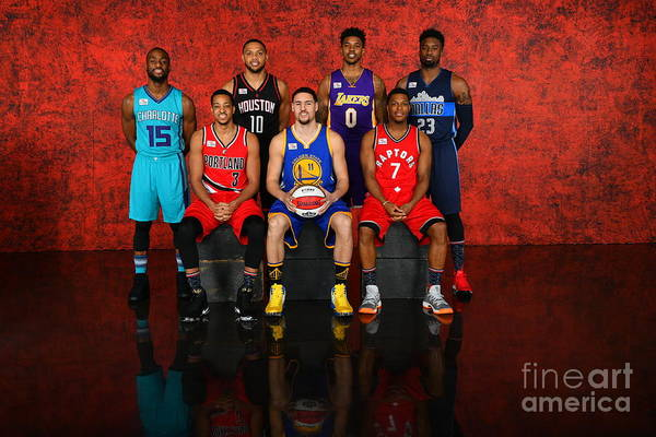 Event Art Print featuring the photograph Nba All-star Portraits 2017 by Jesse D. Garrabrant