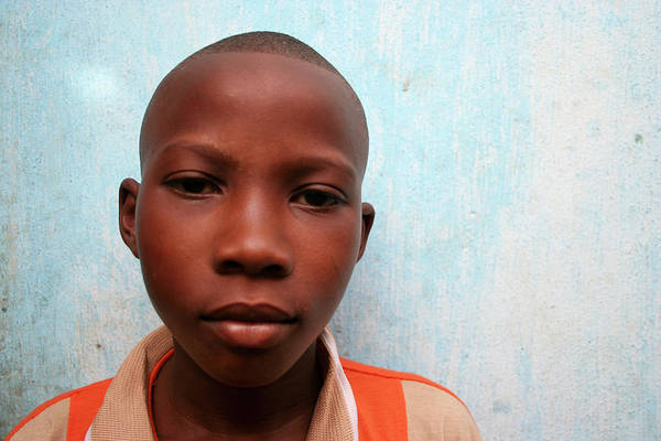 Education Art Print featuring the photograph African Boy by Peeterv