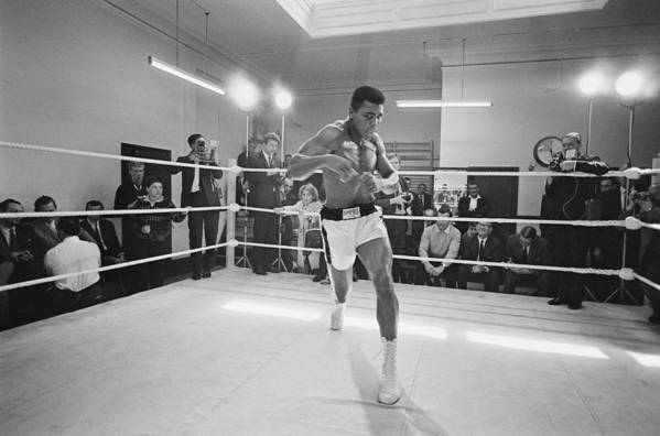 People Art Print featuring the photograph Ali In Training by R. Mcphedran