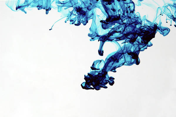 Mixing Art Print featuring the photograph Aqua Art 1 Of 5 by Bpalmer