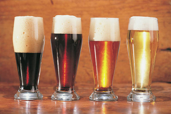 Stout Art Print featuring the photograph Assorted Beers And Ales by Comstock
