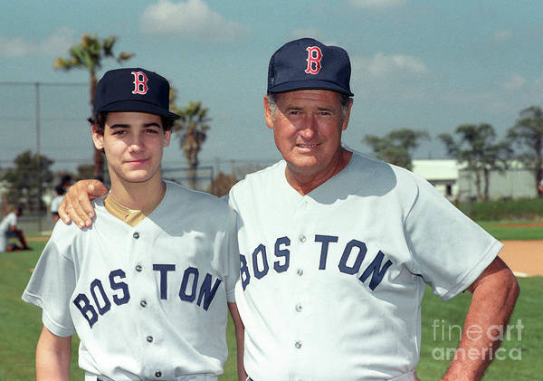 People Art Print featuring the photograph Baseball - Ted Williams - File Photo by Icon Sports Wire