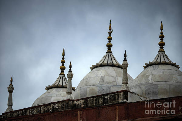Royalty Art Print featuring the photograph Beautiful Architecture Mughal Empire by Skaman306