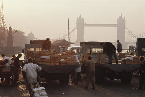 Trading Art Print featuring the photograph Billingsgate Market by Epics