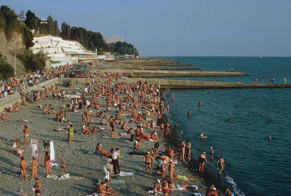 Sochi Art Print featuring the photograph Black Sea Coast by Harvey Meston