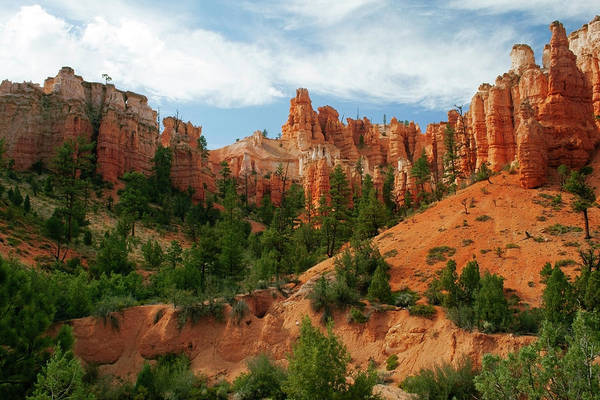 Scenics Art Print featuring the photograph Bryce Canyon by Wsfurlan