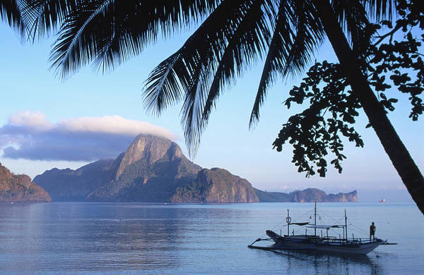 People Art Print featuring the photograph Cadlao Island From El Nido, Sunrise by Dallas Stribley