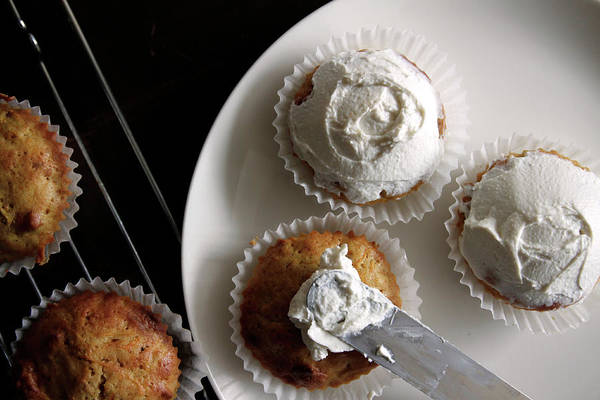 Unhealthy Eating Art Print featuring the photograph Carrot Cakes by Quilie