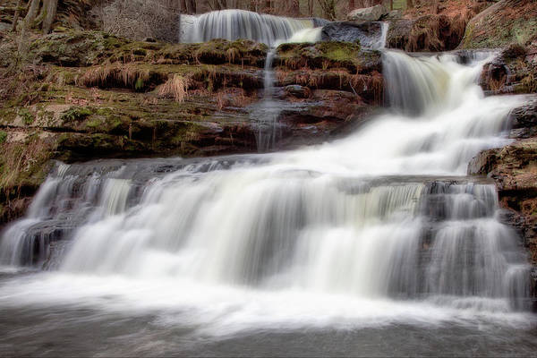 Outdoors Art Print featuring the photograph Childs Park Waterfall by Michael Orso