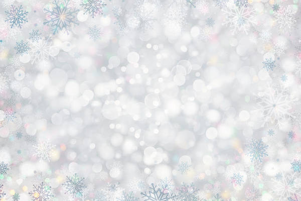 Holiday Art Print featuring the photograph Christmas Background by Sbayram