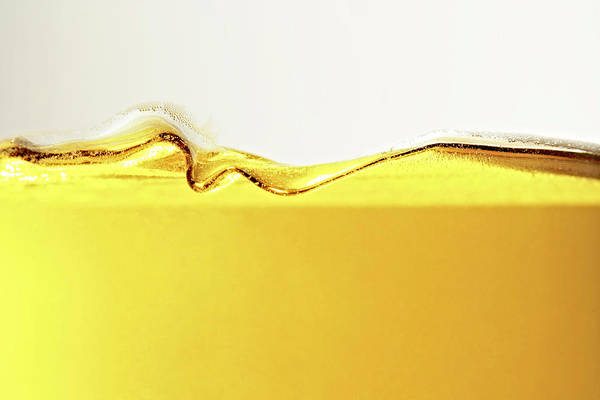 Motion Art Print featuring the photograph Close Up Of Oil In Glass by Cwp