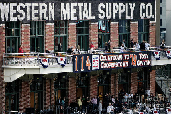 Opening Ceremony Art Print featuring the photograph Colorado Rockies V San Diego Padres by Donald Miralle