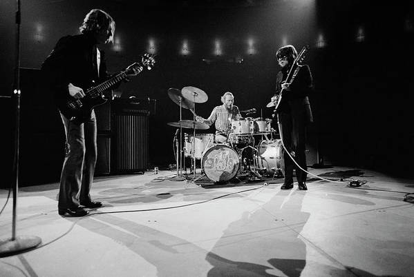 Music Art Print featuring the photograph Cream At Madison Square Garden by Michael Ochs Archives