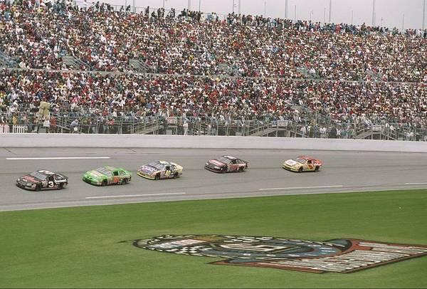 Sport Art Print featuring the photograph Daytona 500 by David Taylor