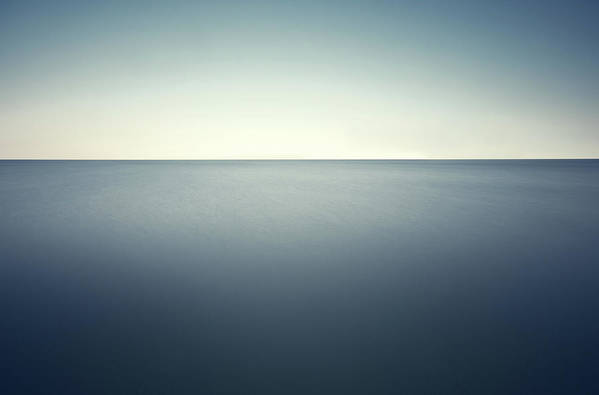 Scenics Art Print featuring the photograph Deep Blue Sea by Ppampicture
