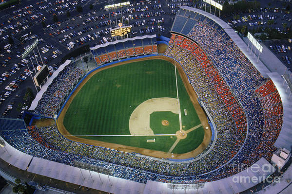Viewpoint Art Print featuring the photograph Dodger Stadium by Getty Images