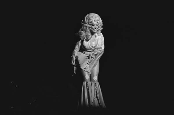 Music Art Print featuring the photograph Dolly Parton Performs Live by Richard Mccaffrey