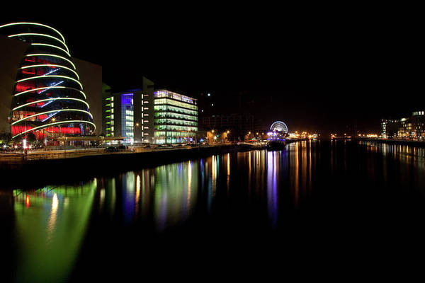 Dublin Art Print featuring the photograph Dublin City Along Quays by Image By Daniel King