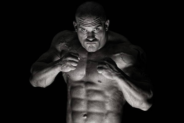 Toughness Art Print featuring the photograph Extreme Guy by Vuk8691
